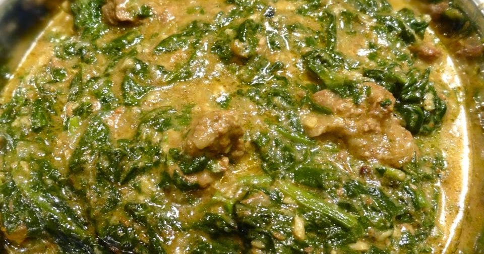 Scrumpdillyicious: Saag Gosht: Indian Lamb & Spinach Curry with Yogurt