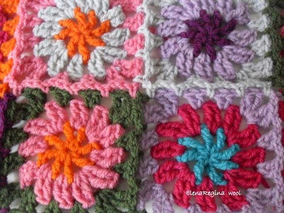 Elenaregina wool: gilet con piastrelline granny color 2014