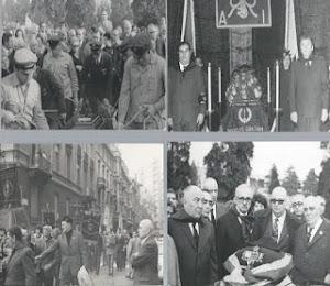 Milano fine ottobre 1971- funerale del vice comandante della Muti Ampelio Spadoni