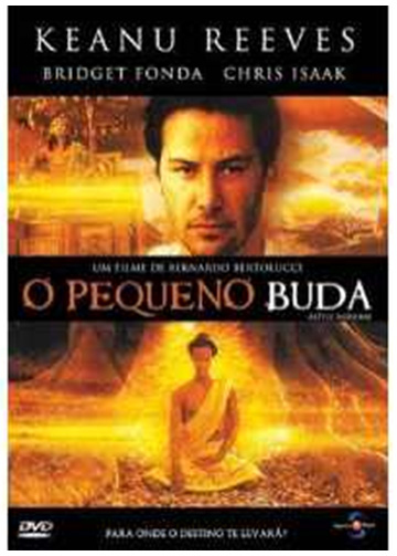 sinopse o pequeno buda Keanu Reeves OLHARES DO SAGRADO NO CINEMA