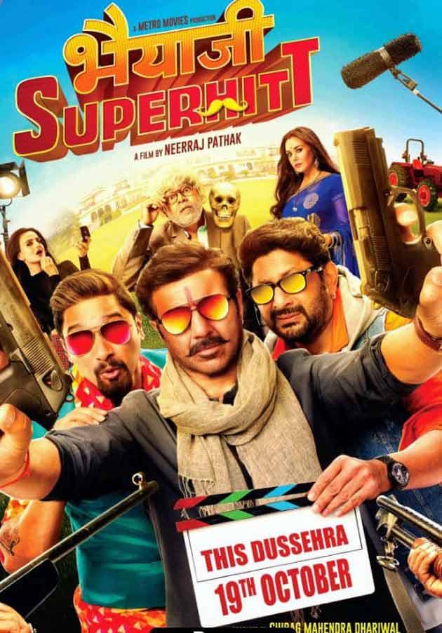 Bhaiaji Superhit (2018) Hindi 720p DVDScr x264 999MB