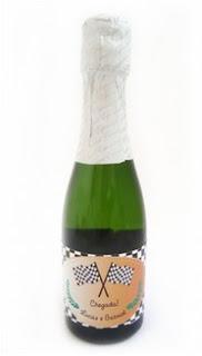 Lembrancinha de Maternidade: Mini-champagne