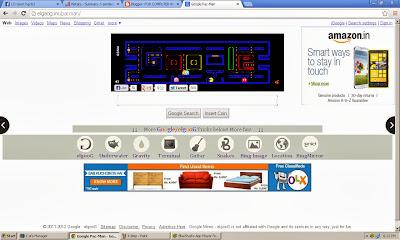 internetjar blog google pacman