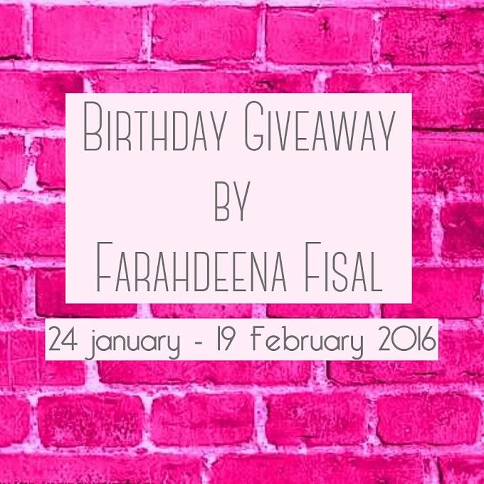 Birthday G.A by FARAHDEENA FISAL