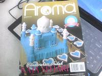 Bella Pastry house dalam majalah AROMA keluaran November 2012.