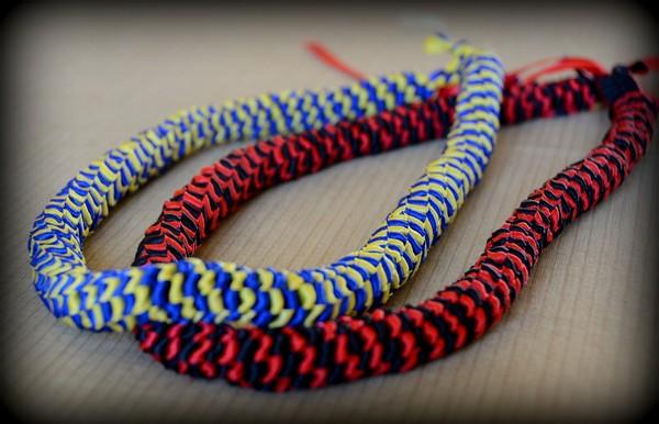 How To Make Graduation Ribbon Leis