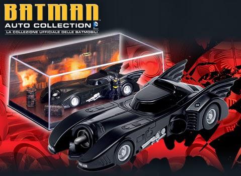 La batmobile del Film Batman 1989