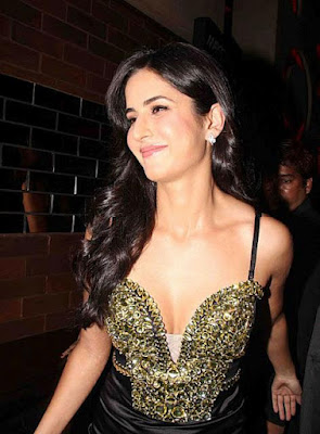 Spicy Actress Katrina Kaif In Hot Exposed Dress Latest Stills