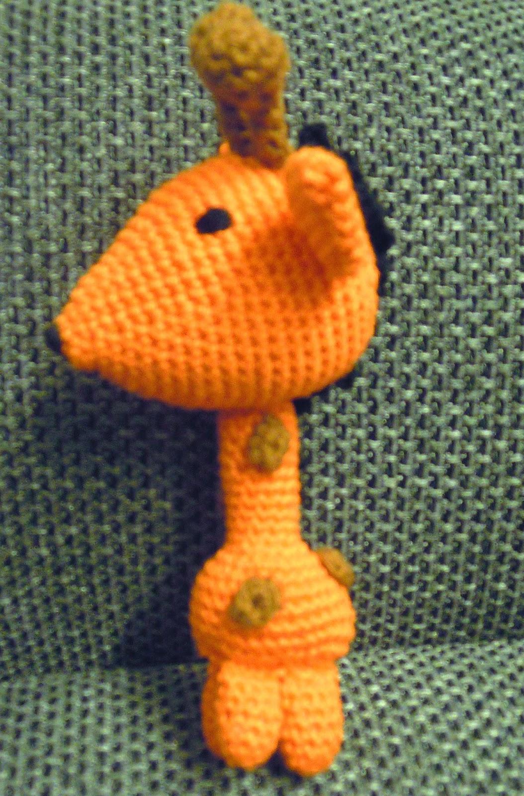 Amigurumi Giraffe Anleitung : Bastelspa? mit Hasekind: Anleitung - Amigurumi Giraffe