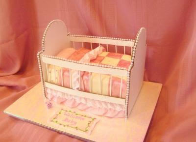 crib cake decoration