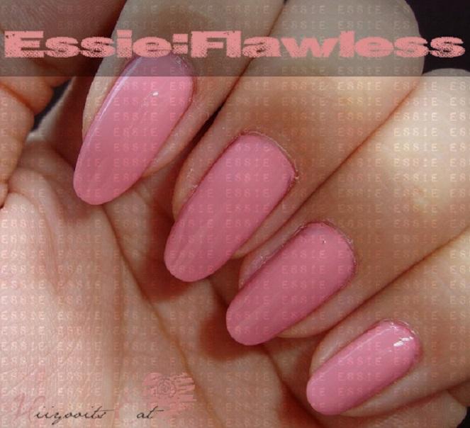Essie: Flawless Nail Polish (Swatch) | Hiiyooitscat Beauty Diaries