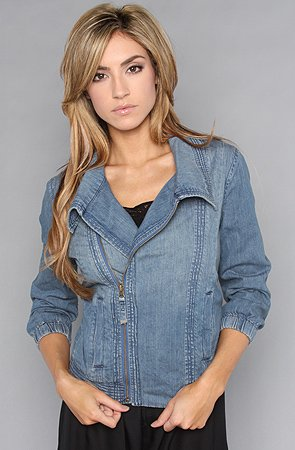 denim jackets for women. Hurley The Avery Den