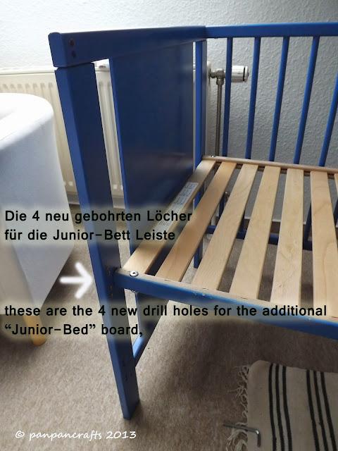 4 nun kann das bett wieder zusammen gebaut werden befestige zuerst den lattenrost auf der. Black Bedroom Furniture Sets. Home Design Ideas