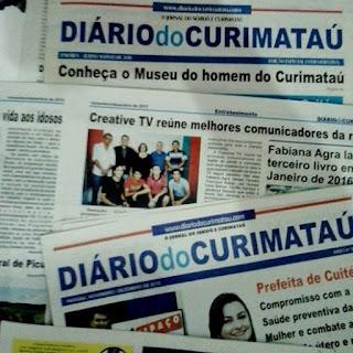 Nova Edição do Jornal Diário do Curimataú - Anuncie (83) 9 8820 0713