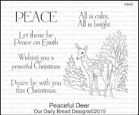 Our Daily Bread designs Peaceful Deer
