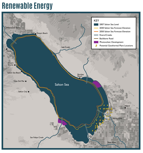 USA California The Geothermal Potential of the Imperial Valley