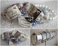 Budskaps Armband
