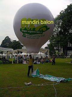 Balon Udara Promosi di Bogor