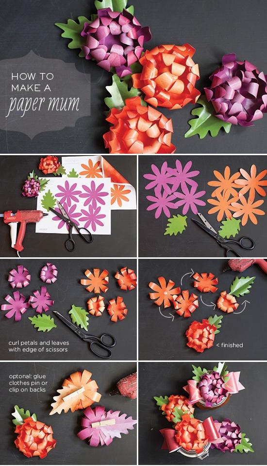 Paper mum