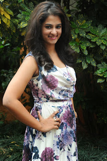 Actress Nanditha Raj Pictures Gallery in Short Dress at Ugadi Vastra Vibha Exhibition Launch  011