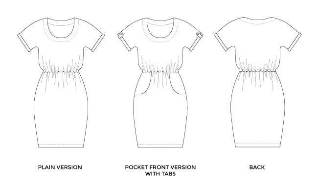 Bettine dress - easy sewing pattern for beginners - Tilly and the Buttons