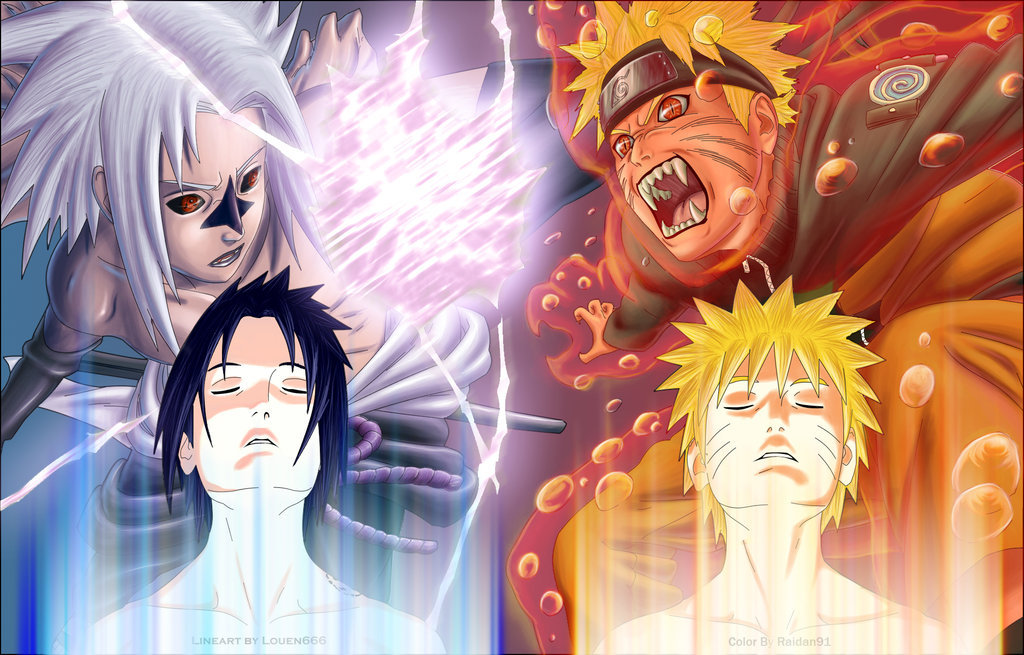 Naruto Shippuden Vs Bleach. Naruto Vs Sasuke 3