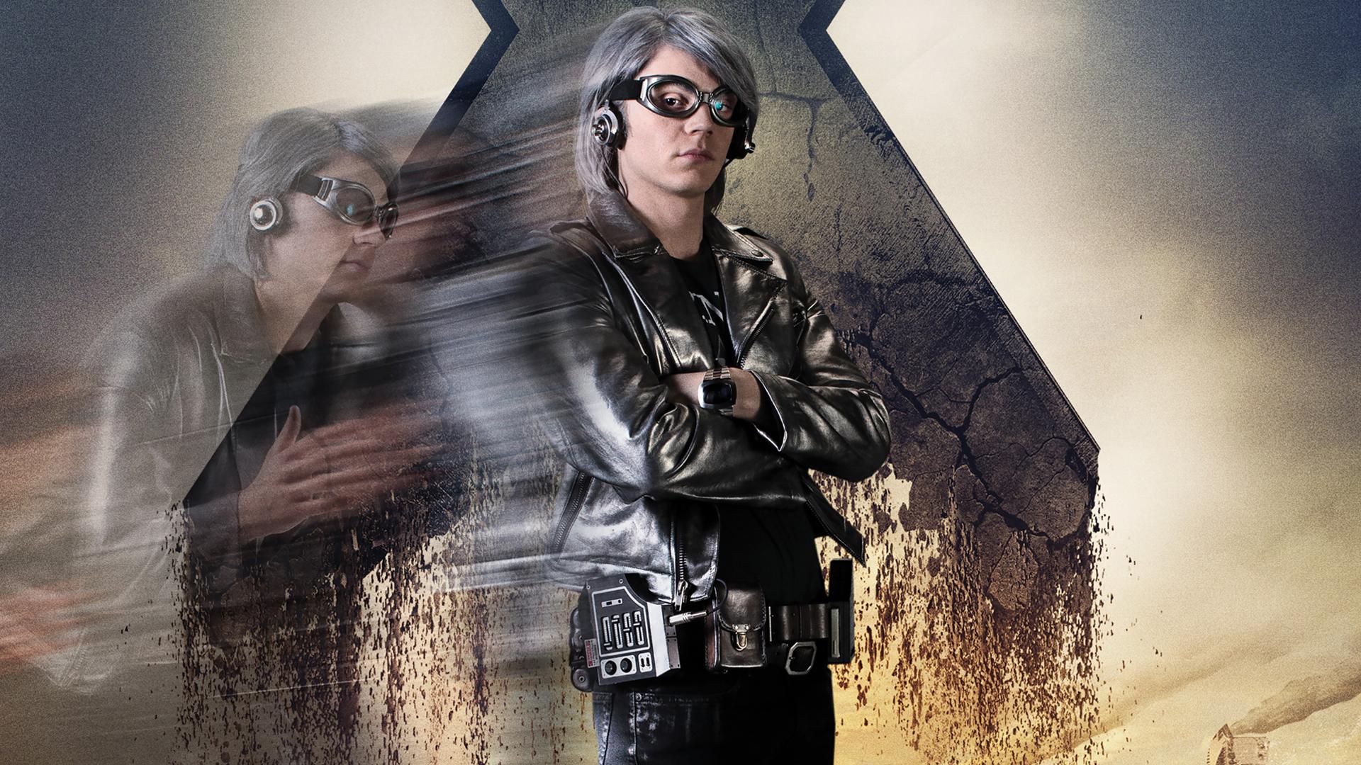 X Men Quicksilver Days Of Future Past Quicksilver X-Men Days...