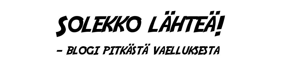 SOLEKKO LÄHTEÄ!