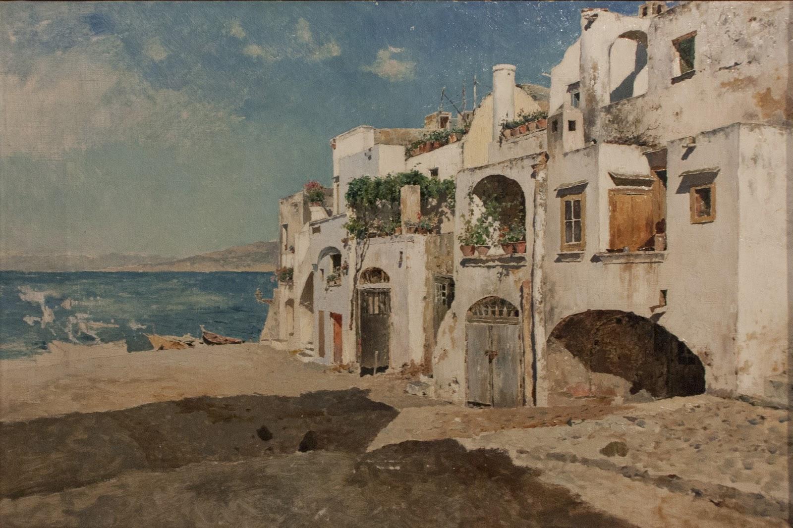 Antonino Leto Case bianche grande marina di Capri