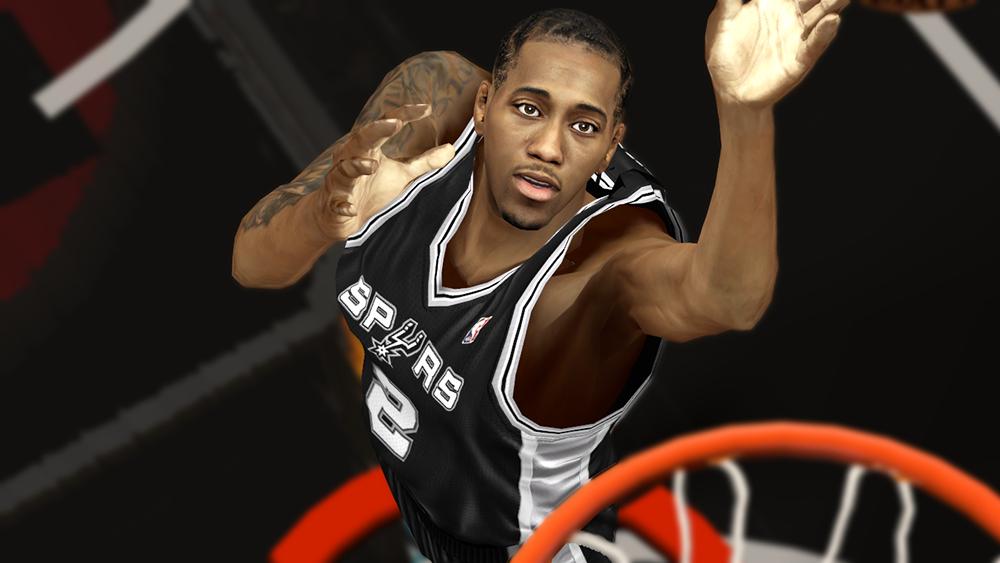 NBA 2K14 Kawhi Leonard Cyberface Mod