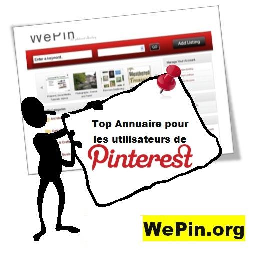 WePin, wepin.org, annuaire, gratuit, pinterest, localisation, monde, top, meilleur, must,best,