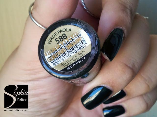 collezione Collistar Bellezza Italiana - smalto gloss effetto gel Verde Paola n°588_02