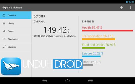 Aplikasi Pencatat Keuangan di Android