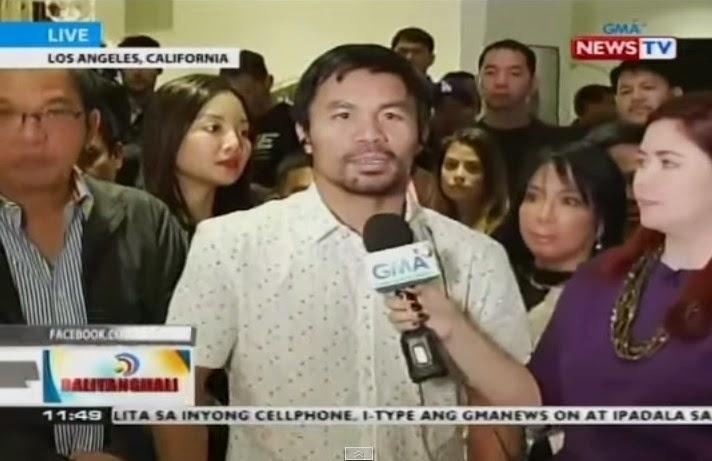 Manny Pacquiao (Pacman) Akan Datang ke Indonesia