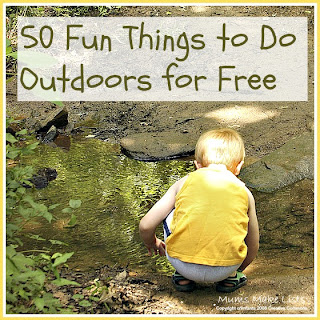 50 fun things to do outdoors