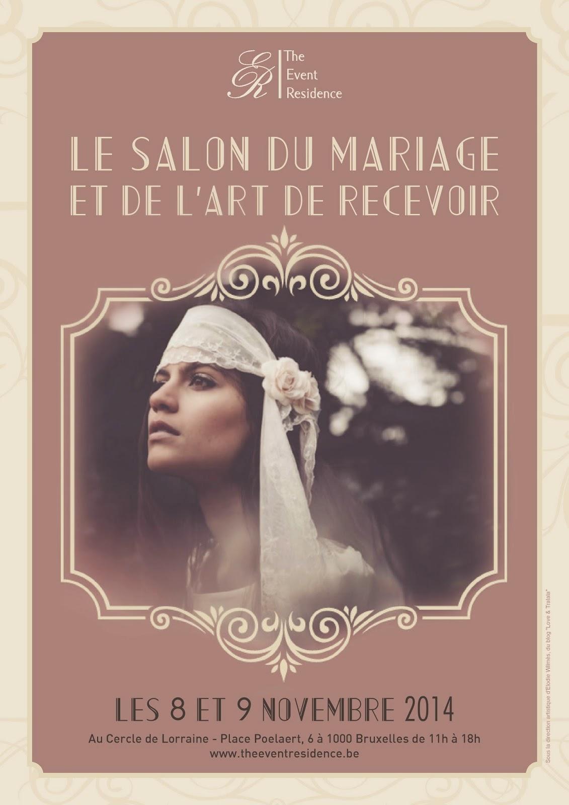 Le salon du mariage bruxelles monsieur plus madame le blog - Salon du mariage de bruxelles ...