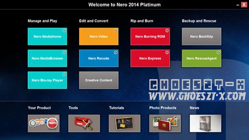 Nero 2014 Platinum Full Keygen