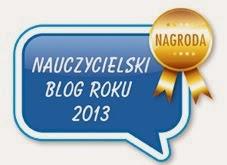 Mój blog został nagrodzony.