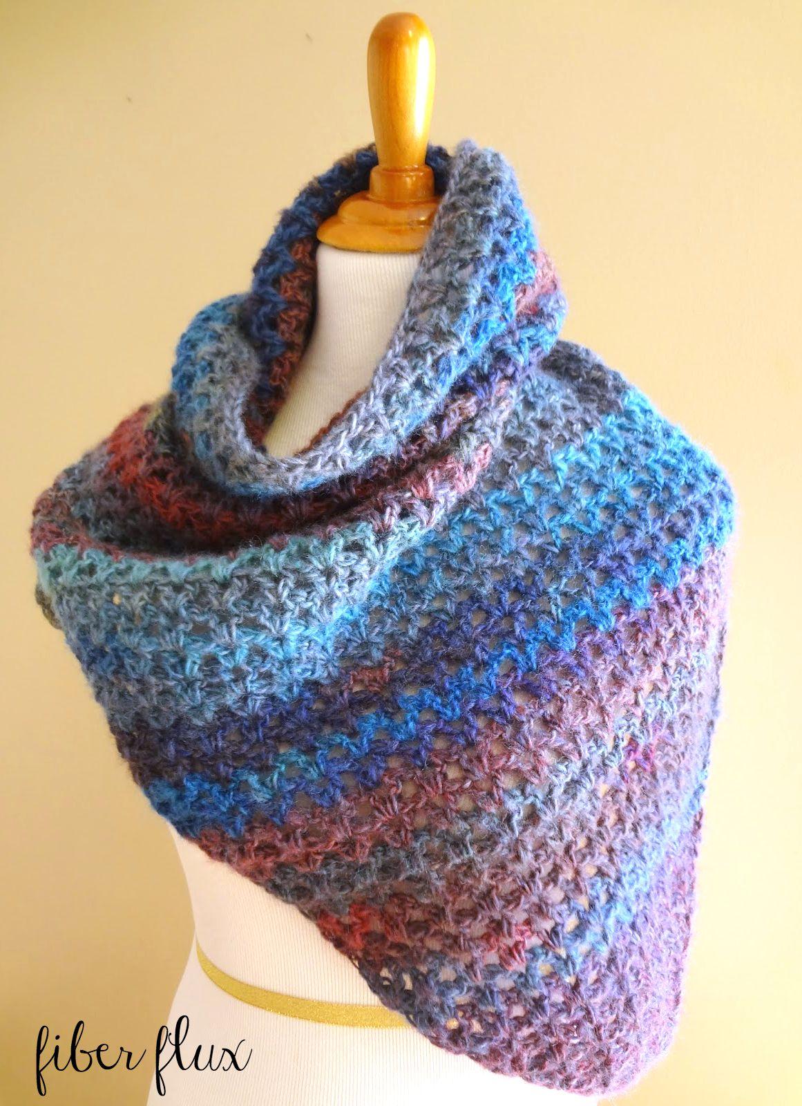 Crochet Patterns Free Prayer Shawl : Fiber Flux: Free Crochet Pattern...Kristen Shawl!