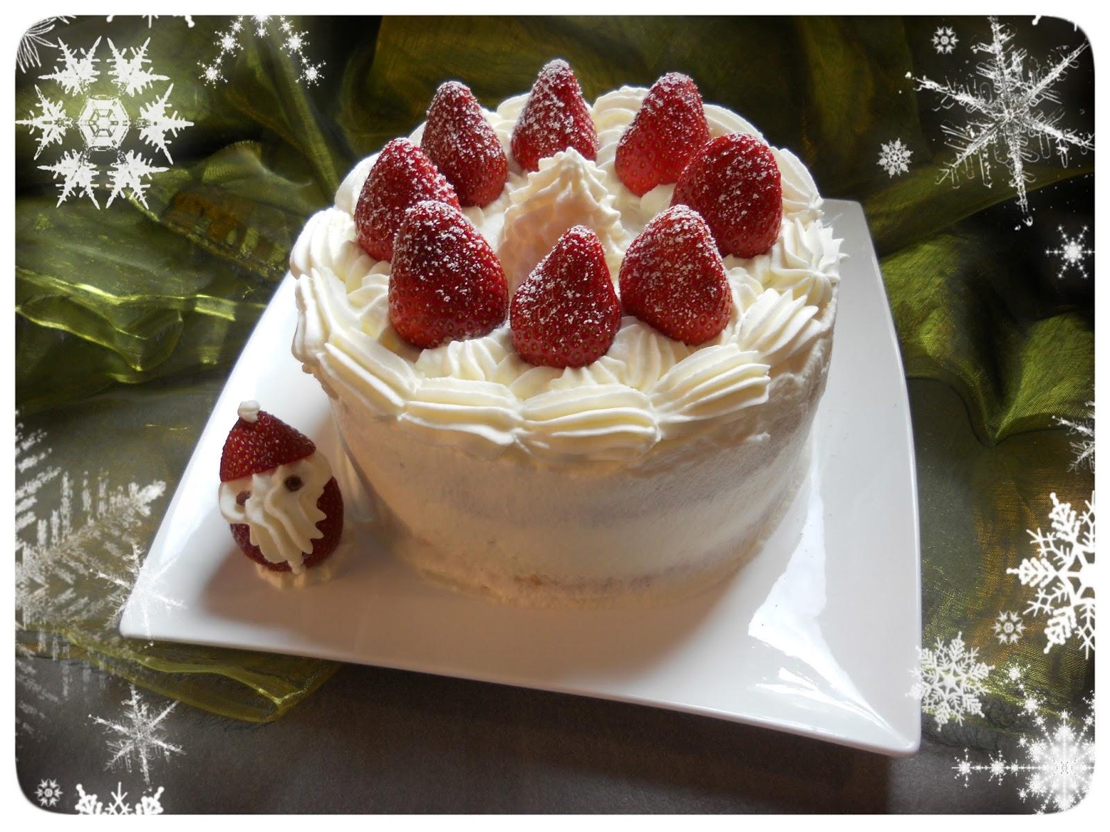 Homemade Japanese Wonderland: Rezept: Japanischer Weihnachtskuchen ...