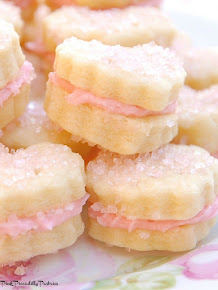Baking Day: Raspberry Cream Wafers