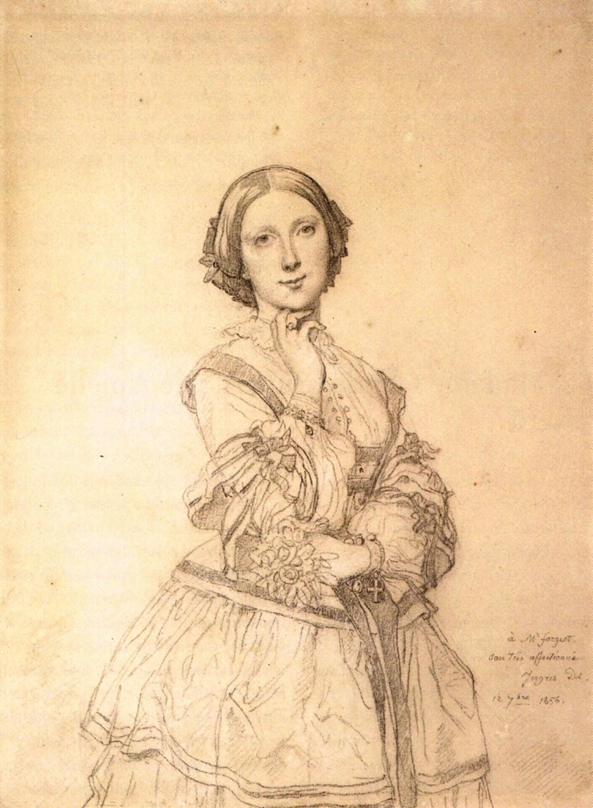Энгр портрет мадам ривьер
