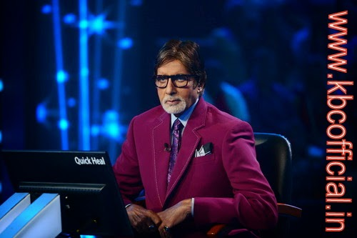 Rani Mukherjee as Special Guest on the Hotseat of KBC season 8