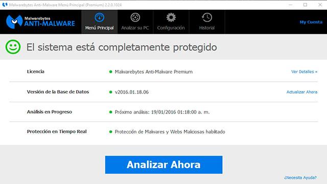 Resultado de imagen de Malwarebytes Anti-Malware Home
