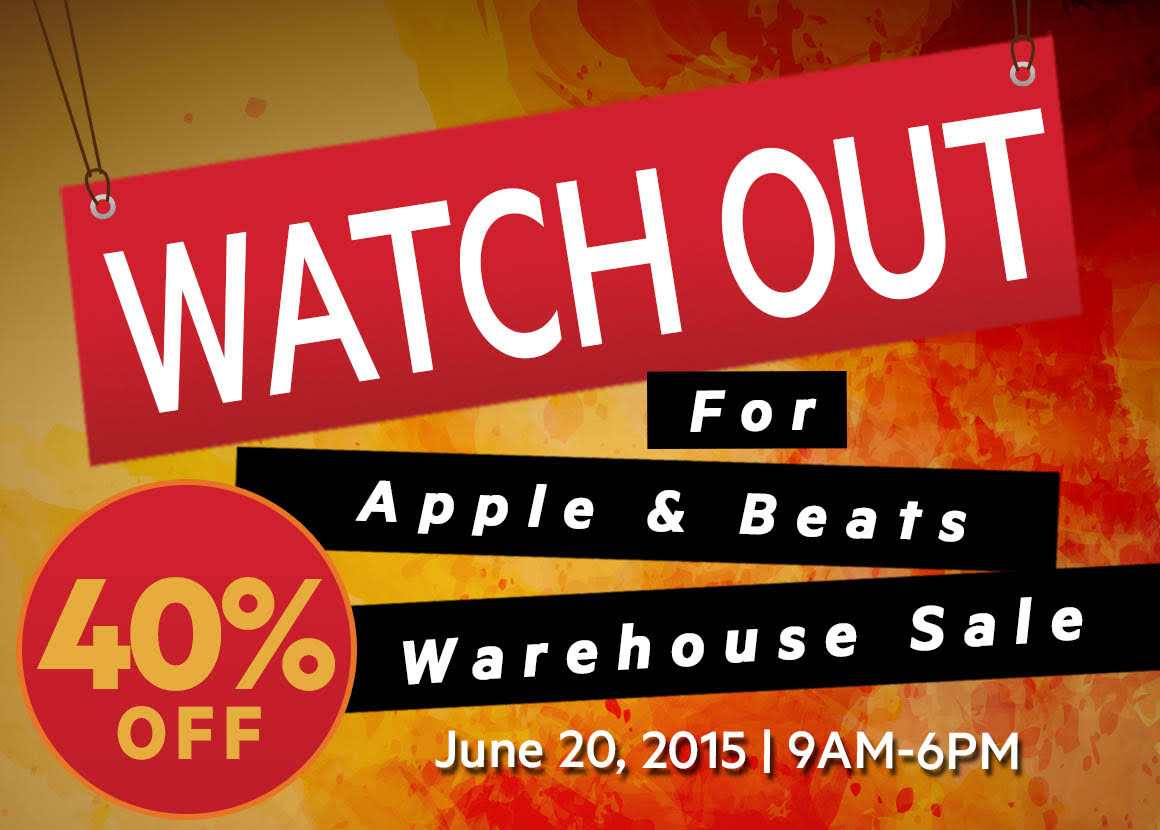 Apple and Beats by Dr. Dre Warehouse Sale