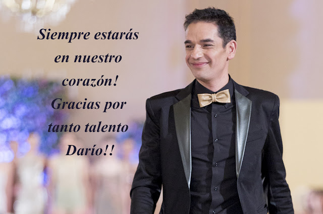 Murió Darío Arbina. Muerte de Darío Arbina diseñador de Moda Argentina.