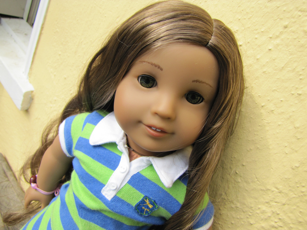 , Hairstyles and Fun!: How To Make A AG Doll School Kit- with videos