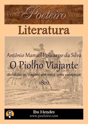 O Piolho Viajante: divididas as viagens em mil e uma carapuças, de Antônio Manuel Policarpo da Silva