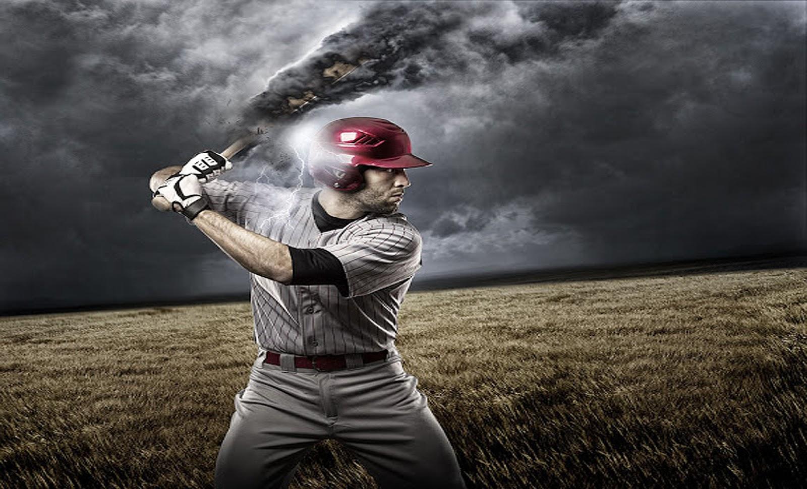 Baseball player wallpaper