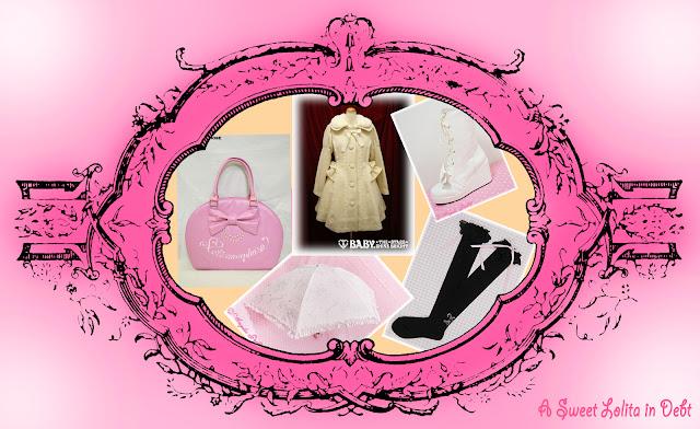 Lolita 52 Challenge, White Btssb Coat, Pink Meta Bag, White AP boots